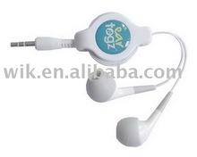 powerful bass Fundigital earphone cable reel
