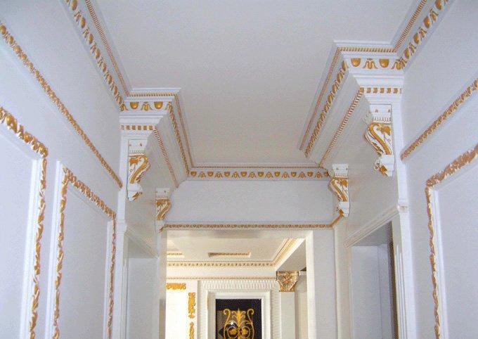 Decoracion de interiores molduras de yeso - Molduras de escayola modernas ...
