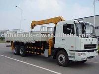 CAMC 8 ton truck-cranes carry a 8 Tons crane
