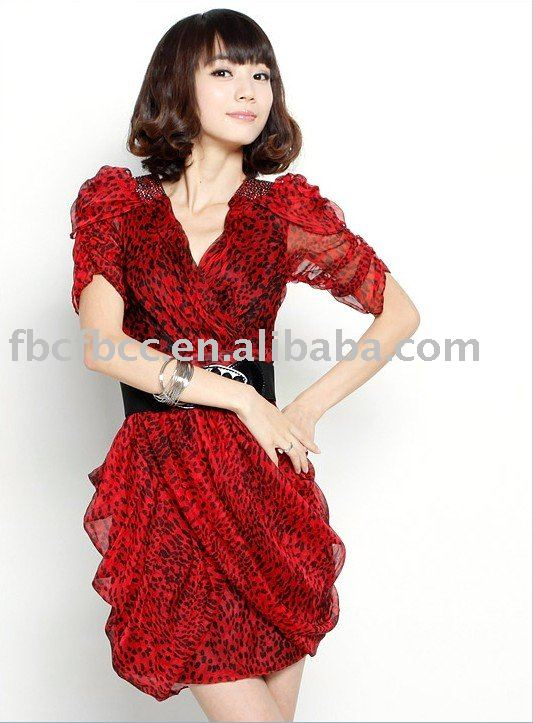 Summer Evening Dresses 2011. 2011 new style red summer