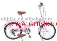 "20"" CE 6 speed girl export Japan folding bike"