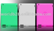 Thumbprint TPU Plastic Case For Apple iPad 2