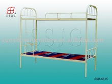 school student children Dormitory metal tube frame bunk bed