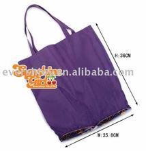2011 fashion nylon foldable shopping bag