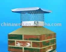 de metal desplegado para casquillo de la chimenea