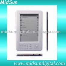 6inch e-book,6 inch e-book reader,7inch e-book reader