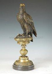 Beautiful eagle bronze sculpture 2011