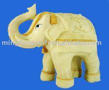 Polyresin Elephant Animal Figurine Craft For House Decoration