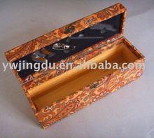 fabric wine box