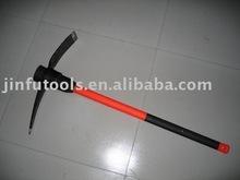 pick,pickaxe,ice axe,pickaxe with wooden handle,pickaxe with fibreglass handle,pick head,garden pickaxe