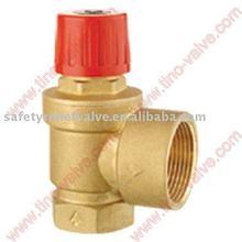 CE approved brass safety valve big size
