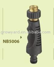 Adjustable metal jet nozzle