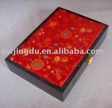 fabric jewelry box
