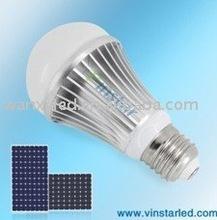Cost-effective high dissipation 6W solar led bulb