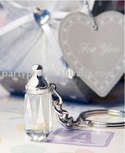crystal keychain for wedding favor