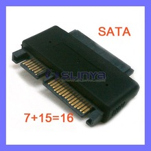 Male 22pin SATA to Female 16pin SATA Adapter M F SATA