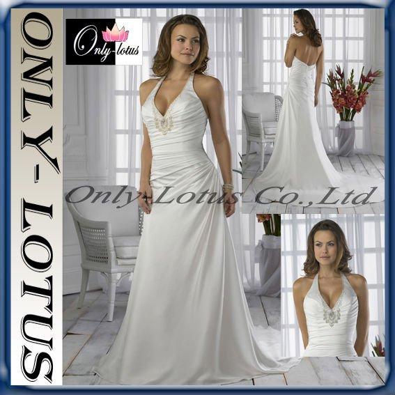 Taffeta pick up halter prom dress - Quinceanera Dresses