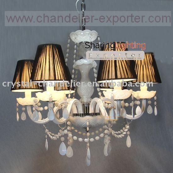 Hubbardton Stone Grey Shade Pendant Chandelier - EuroStyleLighting.com
