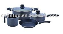 aluminium non-stick cookware set