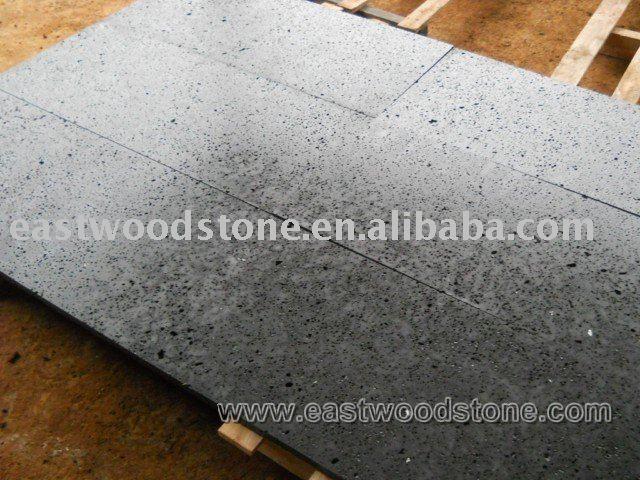 Carrelage fonc de pierre de lave basalte id du produit for Carrelage en pierre de lave