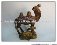 Hand enamel camel jewelry box