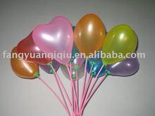 colooful latex heart shape balloon