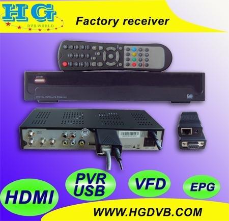 Nagra 3 DVB S810B fábrica receptor mismo como AZ américa