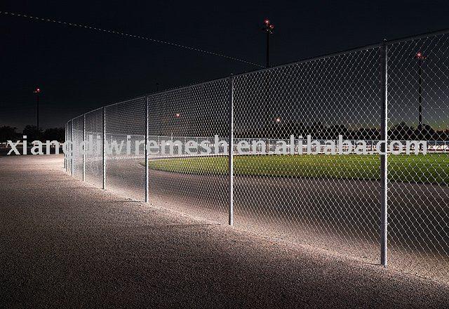 Baseball/Softball - Field: Portable Chain Link Fence Panels