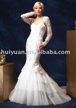 2011 new fashion wedding dress and evening dress