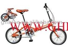 """16"""" cheaper CE single speed folding bike"""