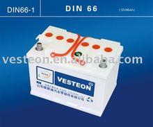 12V 88AH Auto/car battery DIN88