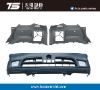 Tecso-A-127 Plastic Injection Mould For Auto Bumper Mould