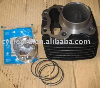 bajaj boxer cylinder kit with piston