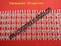 rhinestone mesh ,plastic rhinestone trimming,rhinestone banding