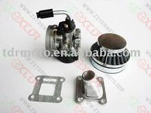 49cc Mini Pocket Bike Parts/Motorcycle Carb/Air Filter/Intake Set
