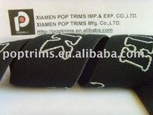 100%nylon Black underwear elastic