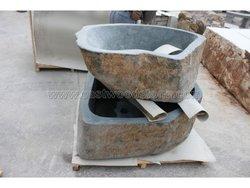 natural skin stone flower pots