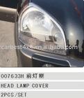 CHROME HEAD LAMP COVER FOR HYUNDAI TUCSON '05