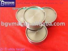 Zirconium Titanium Alloy sputtering Target