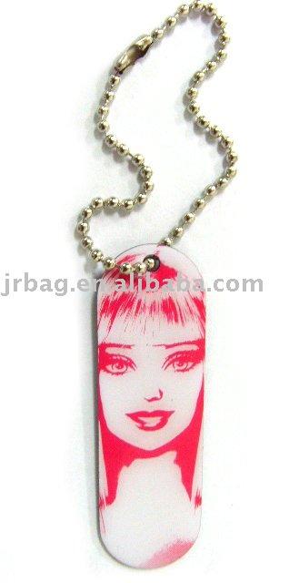 Custom Promotional key chain with Star photo