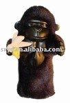 Gorilla golf head cover/Animal shape golf club cover