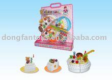 DIY Kid's Brithday Cake Toy Play Set