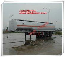 50-55cbm 3axles oil tanker semitrailer( or to load water, chemical liquid, bulk cement, asphalt,alcohol)