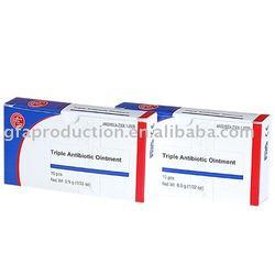 Triple Antibiotic Ointment, 0.9 g, Foil Pack