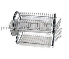 Lot 80 Stainless Steel Dish Rack New/Bowl Racks