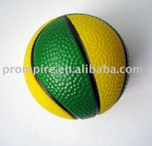 pu basket ball stress ball(polyurethane)