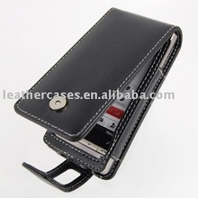 Leather Case For HTC Touch Diamond2 - Flip Type