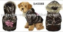 DB070 high quality fashion winter warm dog clothes;pet wear 2011