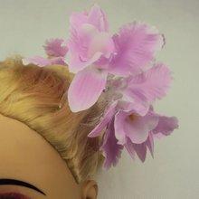 flower hair claws