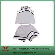 Sprint Hot selling Fashion sports T shirts and Mesh lining shorts Basketball